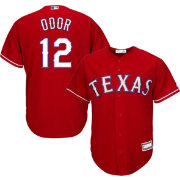 Youth Replica Texas Rangers Rougned Odor #12 Alternate Red Jersey