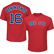 Majestic Youth Boston Red Sox Andrew Benintendi #16 Red T-Shirt