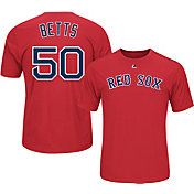 Majestic Youth Boston Red Sox Mookie Betts #50 Red Performance T-Shirt