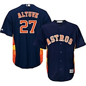 Majestic Youth Replica Houston Astros Jose Altuve #27 Cool Base Alternate Navy Jersey