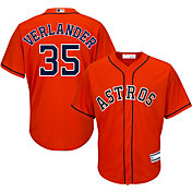 Youth Replica Houston Astros Justin Verlander #35 Alternate Orange Jersey