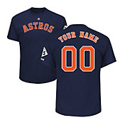Majestic Youth Custom 2017 World Series Champions Houston Astros Navy T-Shirt