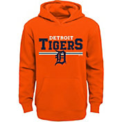 Majestic Youth Detroit Tigers Orange MVP Hoodie