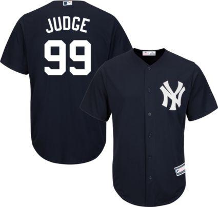 Youth Replica New York Yankees Aaron Judge  99 Alternate Navy Jersey ... 8a57c3f6b04