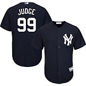 Youth Replica New York Yankees Aaron Judge #99 Alternate Navy Jersey