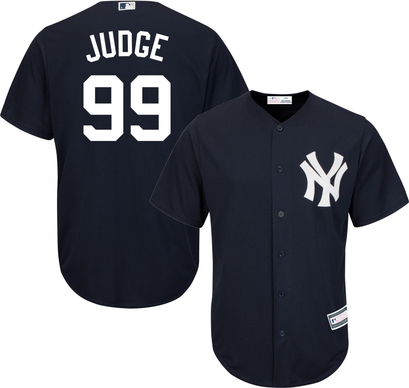 Youth Replica New York Yankees Aaron Judge #99 Alternate Navy Jersey