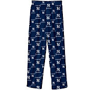 Majestic Youth New York Yankees Team Logo Pajama Pants