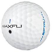 Maxfli SoftFli Gloss Golf Balls ? White
