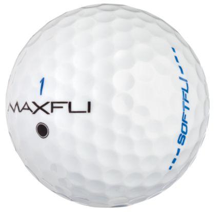 Maxfli SoftFli Gloss Golf Balls – White - 12 Pack