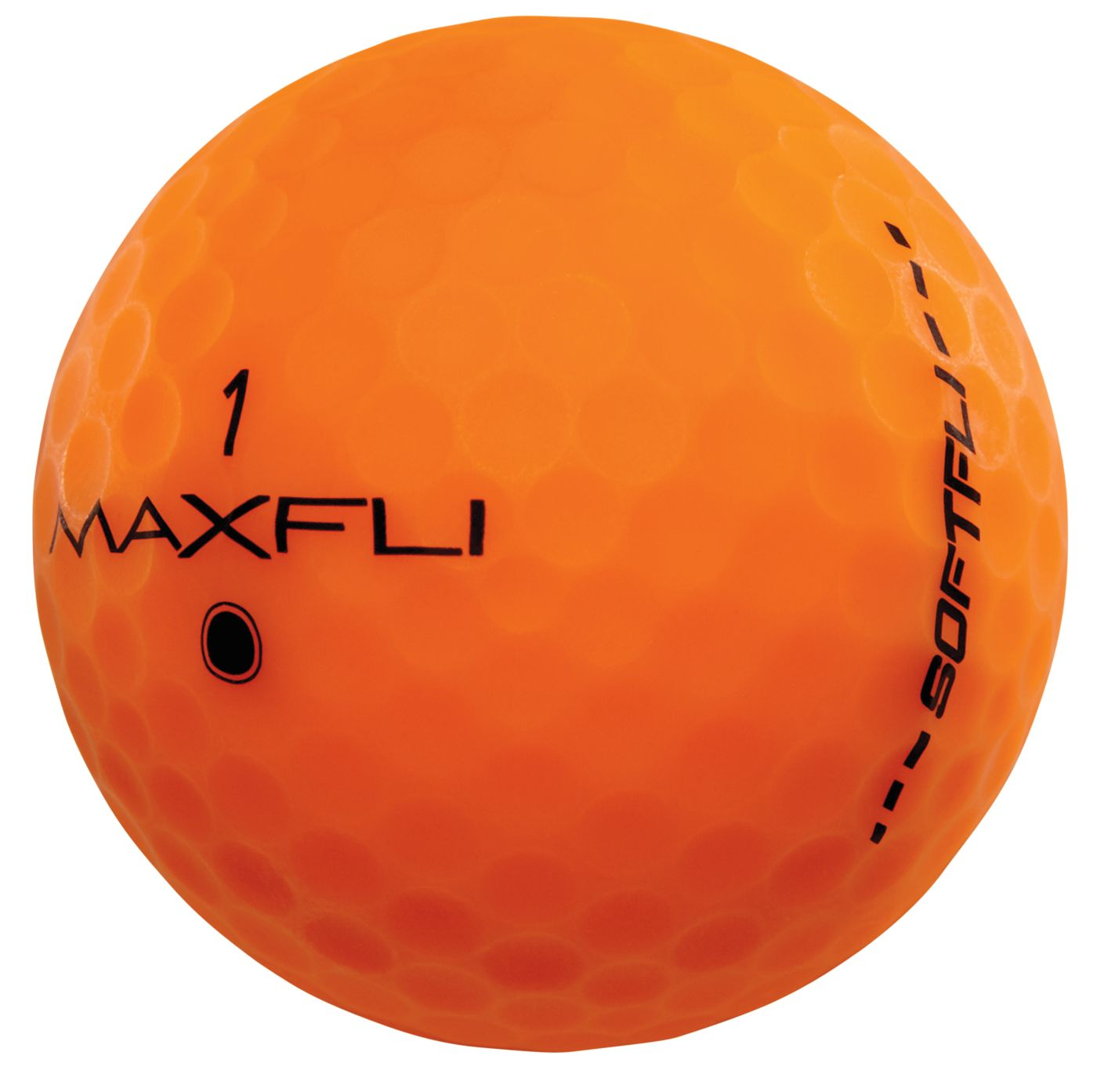 Maxfli SoftFli Matte Golf Balls – Orange - 12 Pack