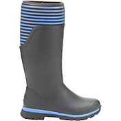 Muck Boots Women's Cambridge Stripe Tall Rain Boots