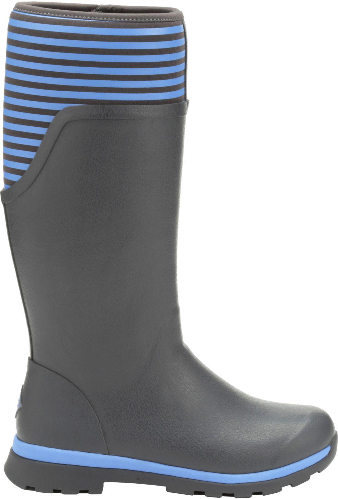 7275ac2a20a98 Muck Boots Women's Cambridge Stripe Tall Rain Boots | DICK'S ...
