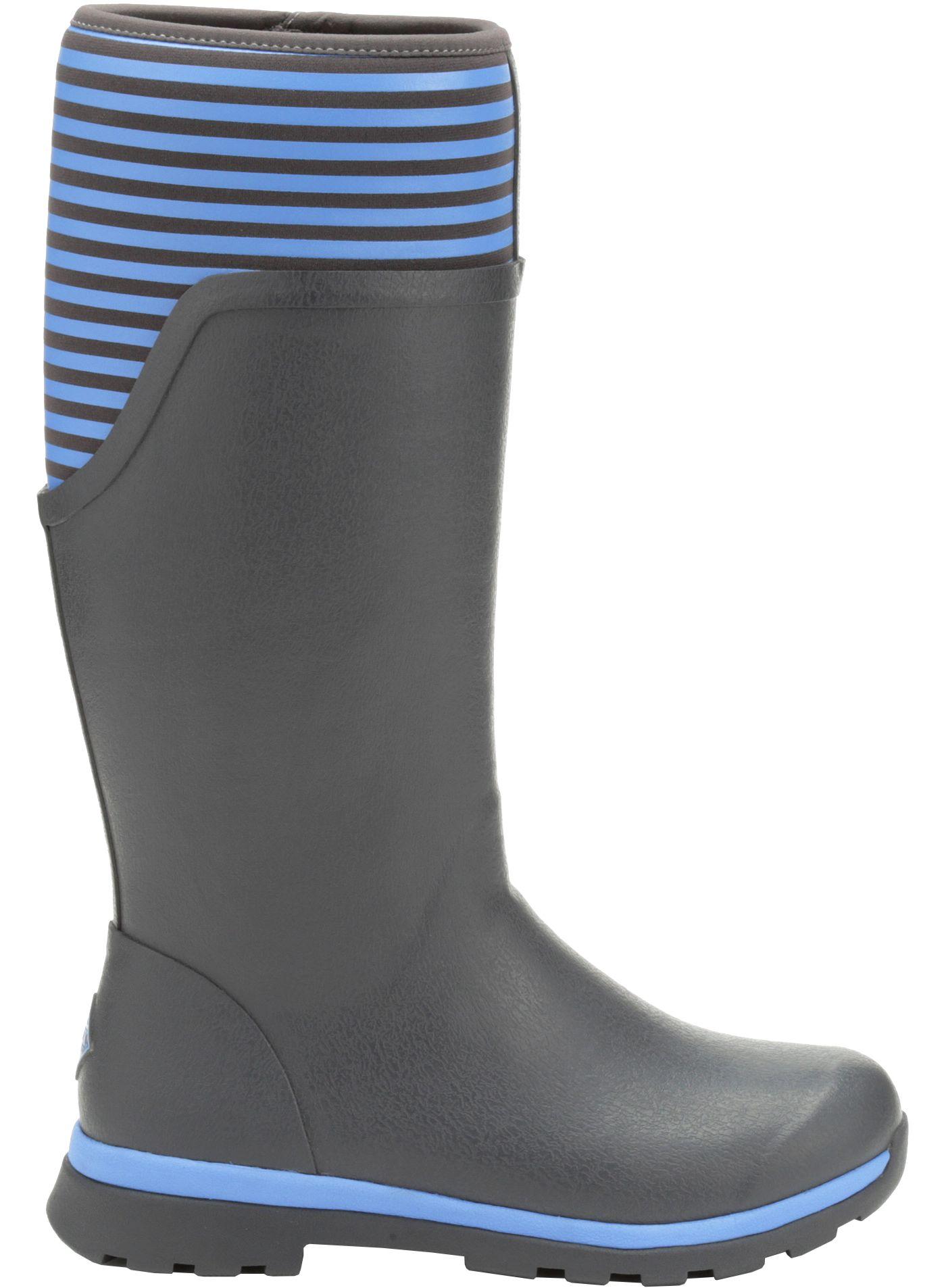 Muck Boots Women's Cambridge Stripe Tall Rain Boots