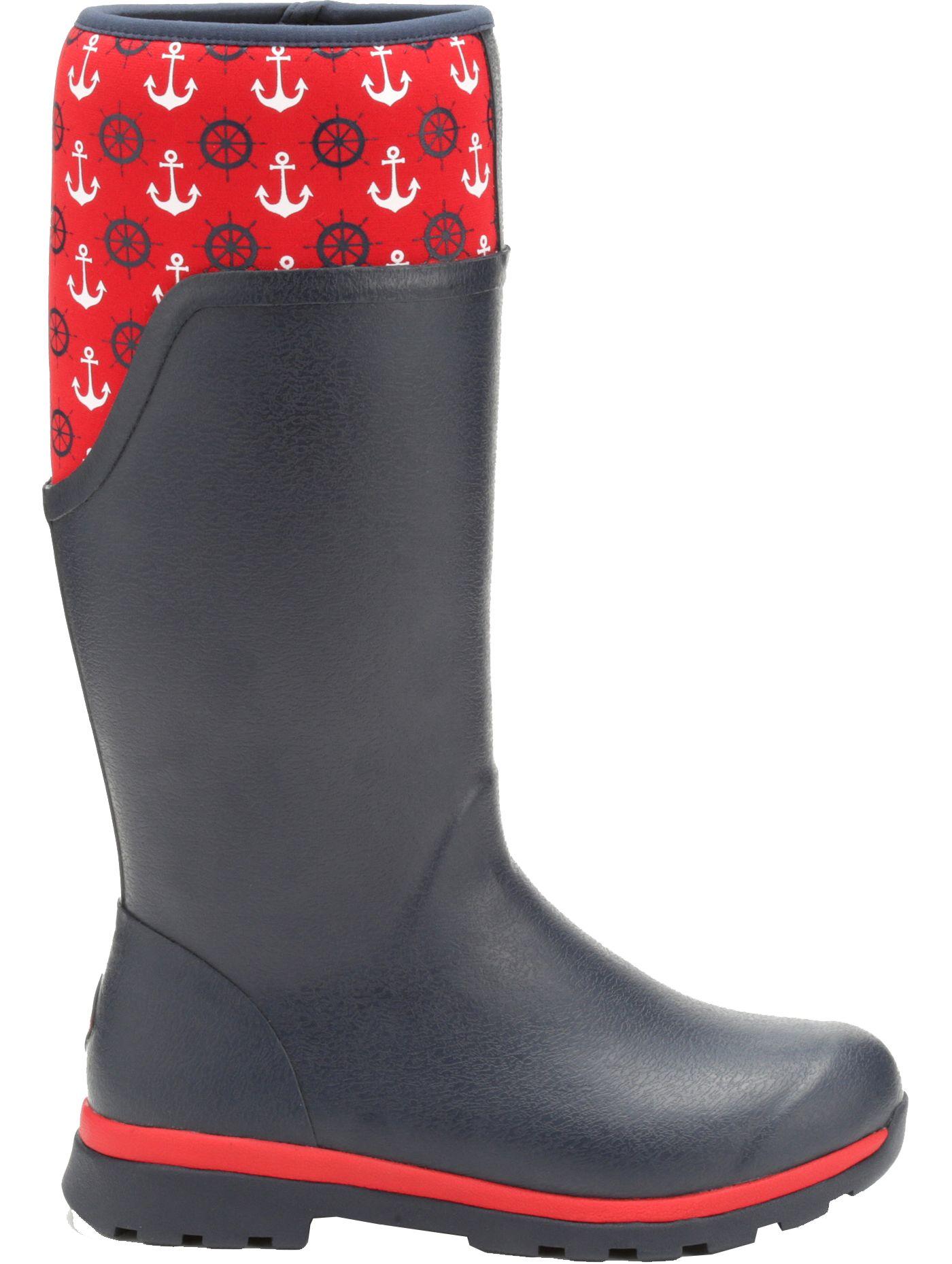 Muck Boots Women's Cambridge Anchors Tall Rain Boots