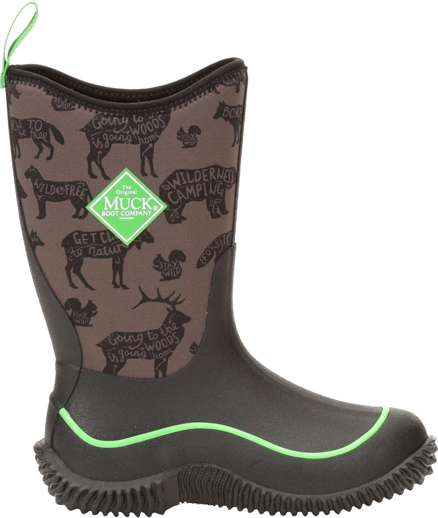 Muck Boots Kids' Hale Print Waterproof Winter Boots