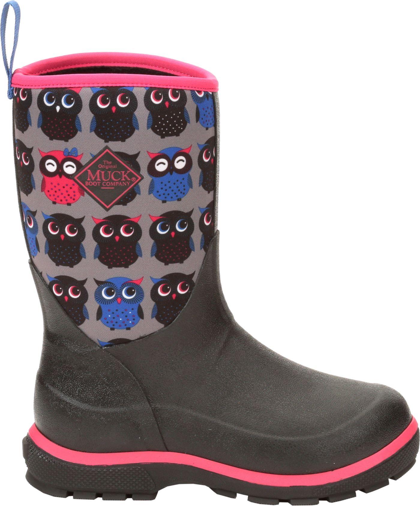 Muck Boots Kids' Element Print Waterproof Winter Boots