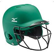 Mizuno Youth Prospect Batting Helmet w/ Fastpitch Mask