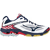 Mizuno Women's Wave Lightning Z3 Stars and Stripes Volleyball Shoes