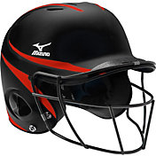 Mizuno Youth Prospect Fastpitch Batting Helmet w/ Mask