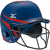 Mizuno Youth Prospect Fastpitch Batting Helmet w/ Mask