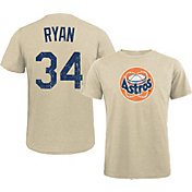 Majestic Threads Men's Texas Rangers Nolan Ryan White T- Shirt