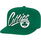 Mitchell & Ness Men's Boston Celtics Adjustable Snapback Hat