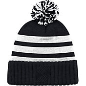 Mitchell & Ness Men's Portland Trail Blazers Tonal Black Cuffed Knit Hat