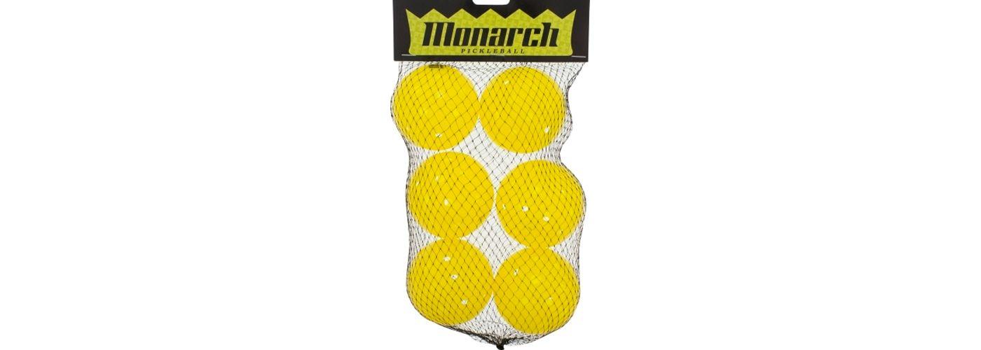Monarch Outdoor Pickleballs – 6 Pack