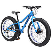 Mongoose Boys' Vinson Fat Tire 24'' Mountain Bike