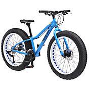 Mongoose Boys' Vinson Fat Tire 24'' Mountain Bike