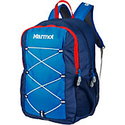 Marmot Youth Arbor Backpack in True Blue/Arctic Navy