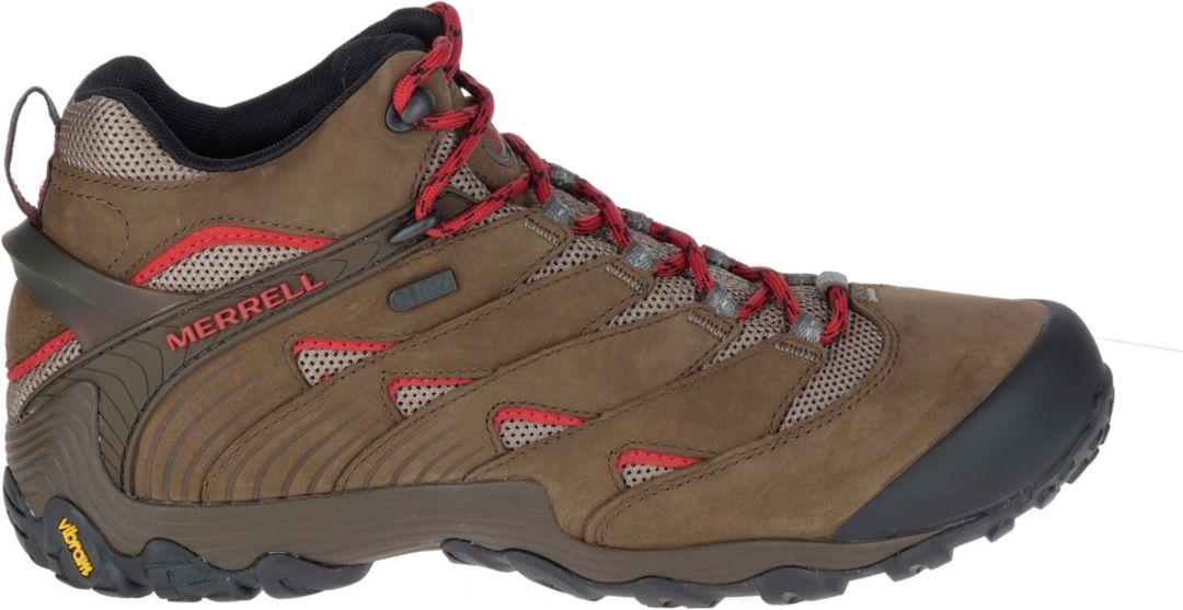 5200bd19495 Merrell Men's Chameleon 7 Mid Waterproof Hiking Boots