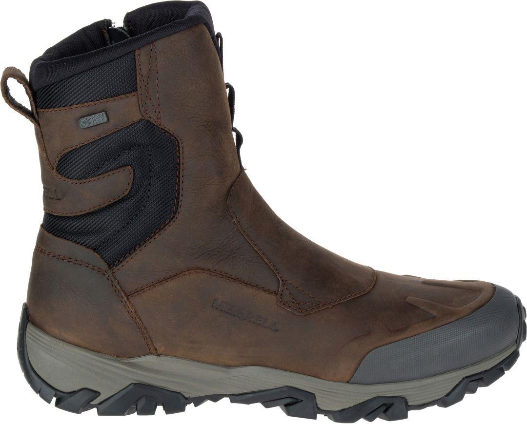 7d941c53 Merrell Men's Coldpack Ice+ 8'' Zip Waterproof Winter Boots