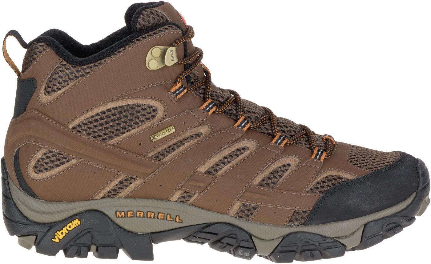 Merrell Men's Moab 2 Mid GORE-TEX Hiking Boots