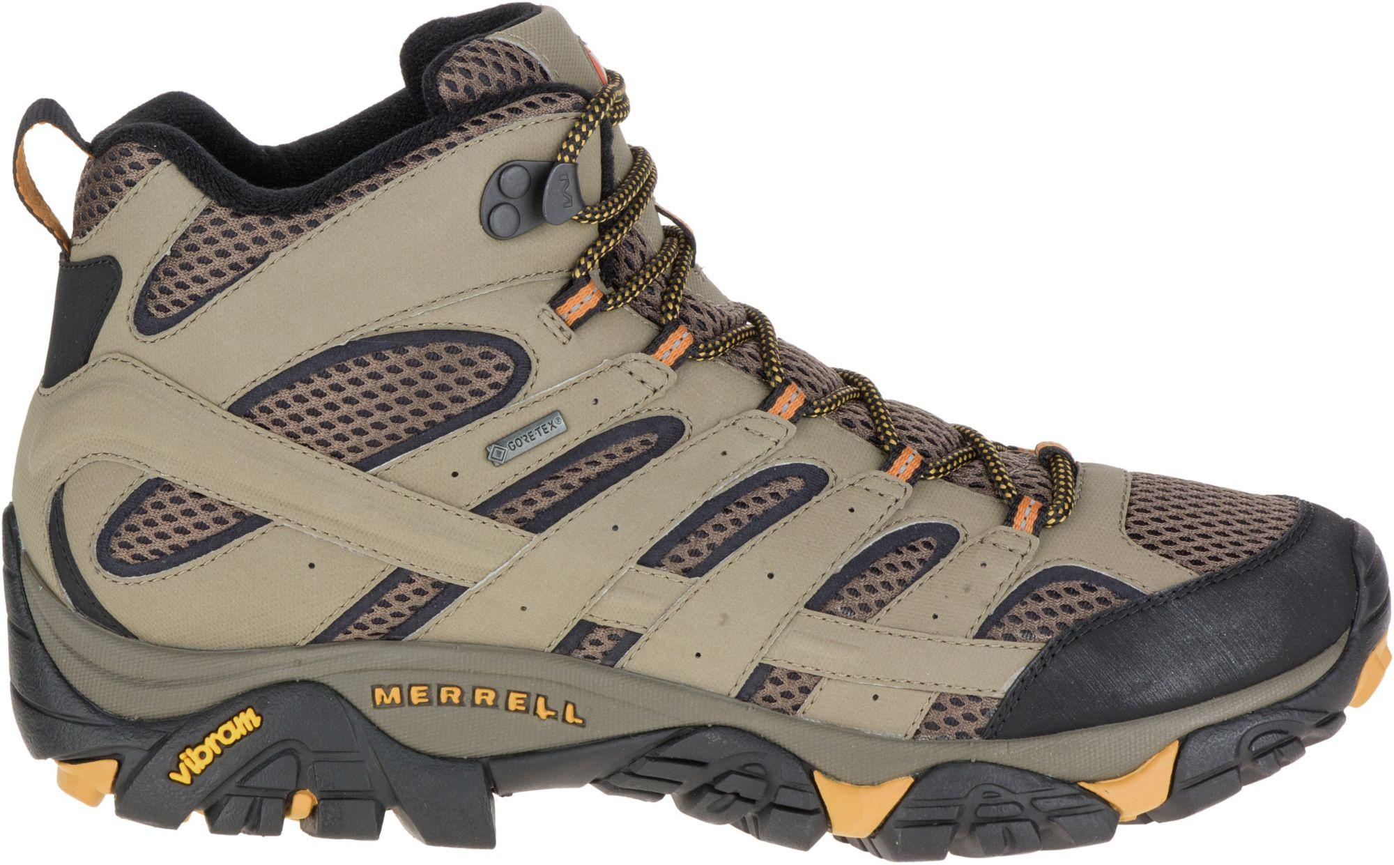 merrell men's moab 2 mid hiking boot