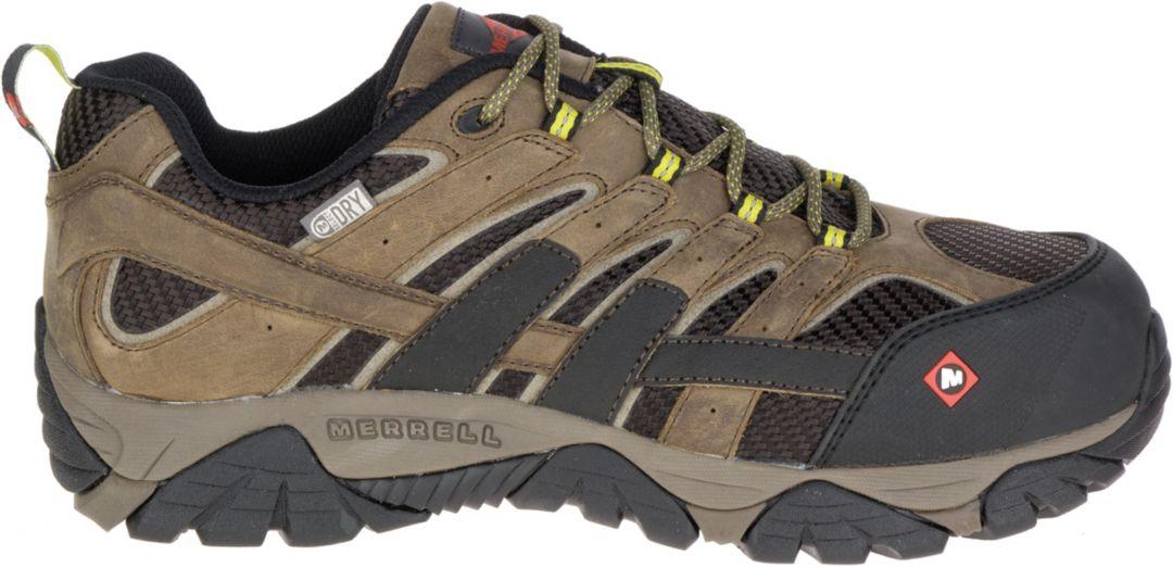 1a2369eb Merrell Men's Moab 2 Vent Waterproof Composite Toe Work Shoes