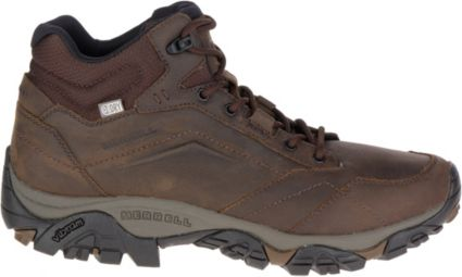 68fa4d8440 Merrell Men s Moab Adventure Mid Waterproof Hiking Boots