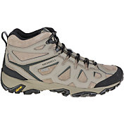 Merrell Men's Moab FST Leather Mid Waterproof Hiking Boots