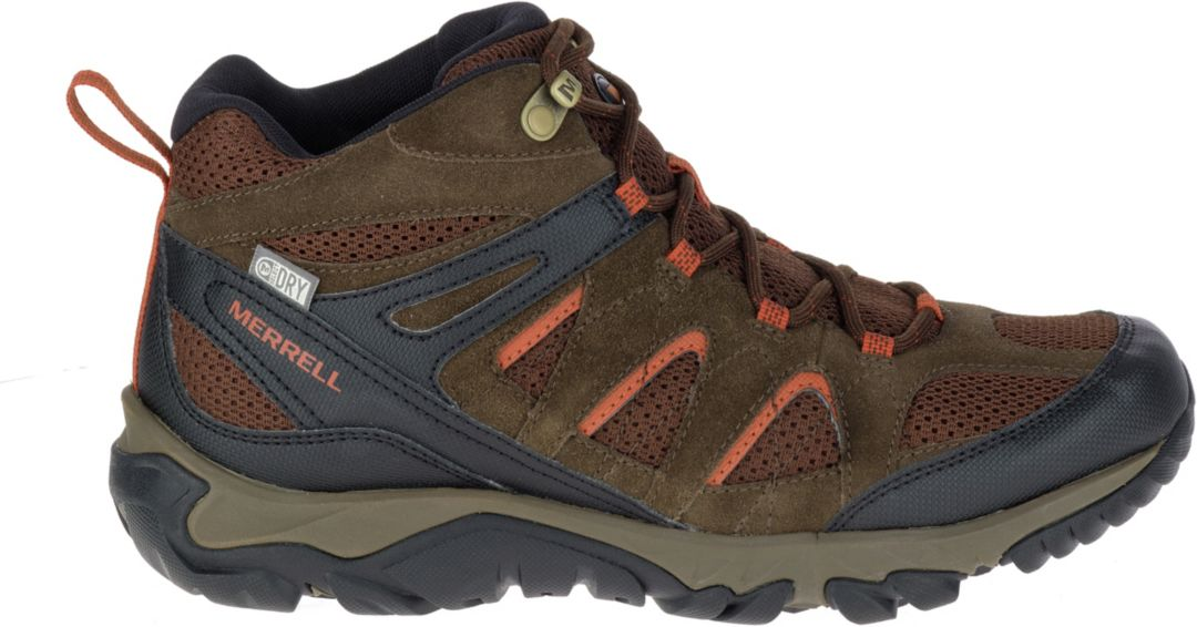 1f499442a9 Merrell Men's Outmost Mid Ventilator Waterproof Hiking Boots