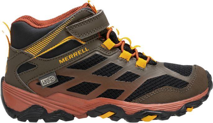 merrell moab fst waterproof mid one