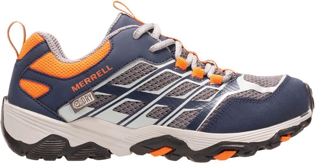 7acebb9bf3 Merrell Kids' Moab FST Low Waterproof Hiking Shoes