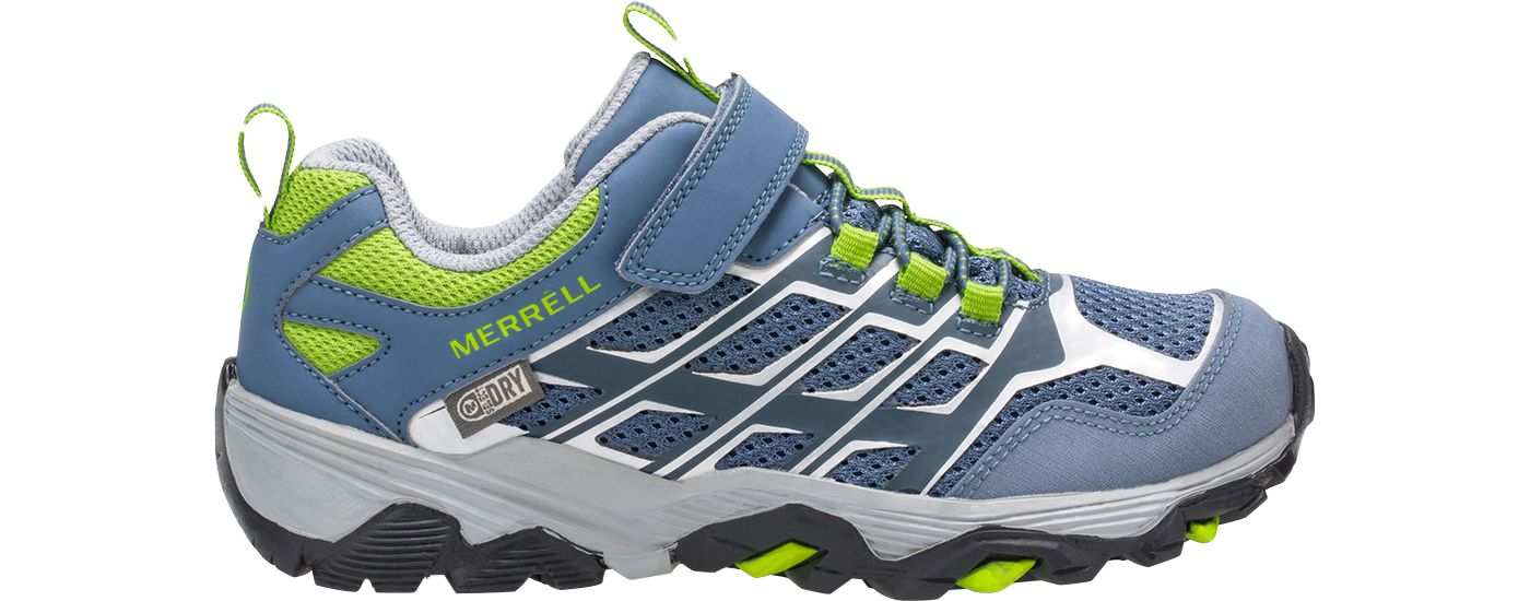 Merrell Kids' Moab FST Low AC Waterproof Hiking Shoes