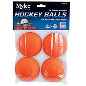 Mylec Warm Weather 4-Pack Hockey Balls