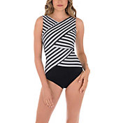 Miraclesuit Women's Mayan Stripe Brio Swimsuit