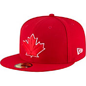 New Era Men's Toronto Blue Jays 59Fifty Alternate Red Authentic Hat