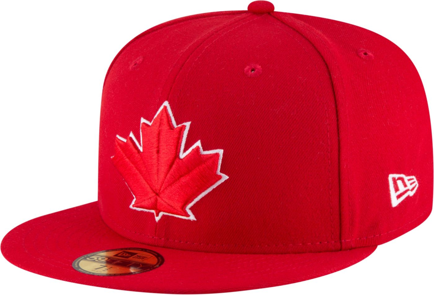 New Era Men's Toronto Blue Jays 59Fifty Alternate Red Authentic Hat