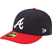 Product Image · New Era Men s Atlanta Braves 59Fifty Home Navy Low Crown  Authentic Hat 52a3e4f0a604