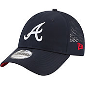 New Era Men's Atlanta Braves 9Forty Perf Pivot Adjustable Hat
