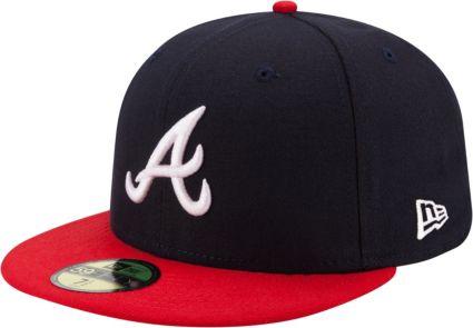 3dea779bb49 New Era Men s Atlanta Braves 59Fifty Home Navy Authentic Hat. noImageFound