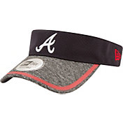 New Era Men's Atlanta Braves Tinted Trim Adjustable Visor